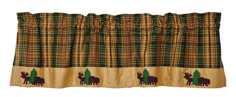 Woods Bear and Moose Valance