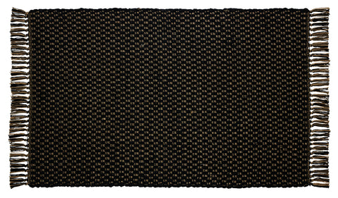 Cumberland Black Rectangle Rug