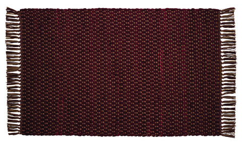 Cumberland Wine - Burgundy Rectangle Rug