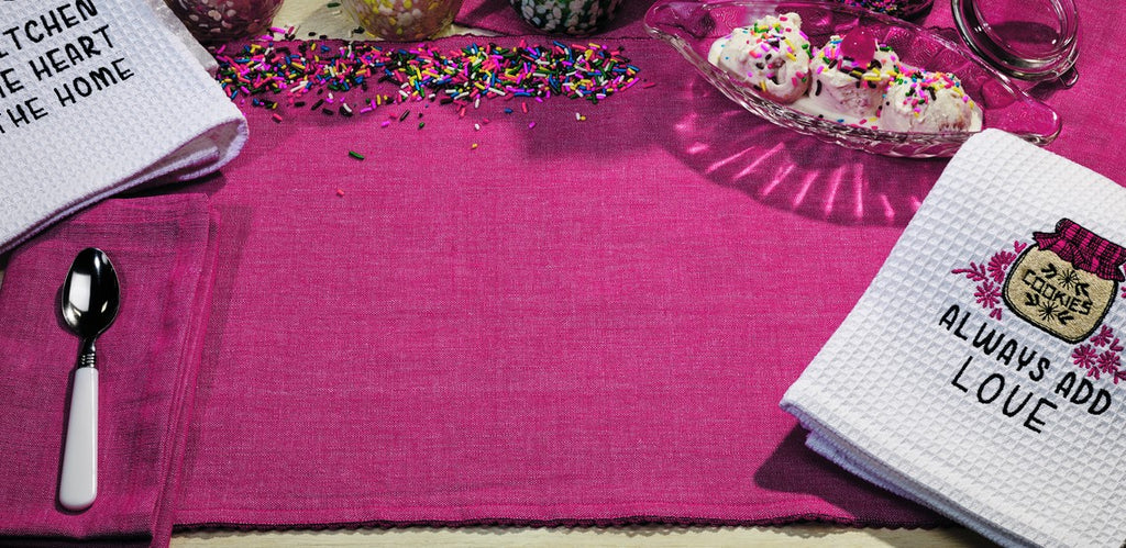 Sorbet Fuschia Red Placemat