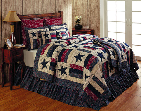 Liberty Quilted Pillow Cover