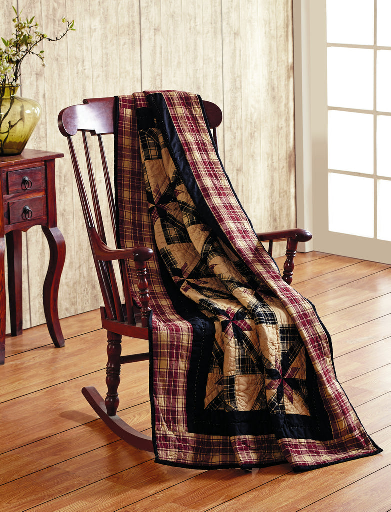 Heritage Quilted Throw Blanket