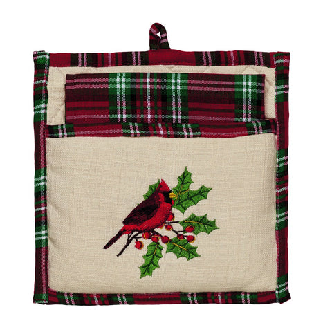 Cardinal Potholder Gift Set - Set of 2