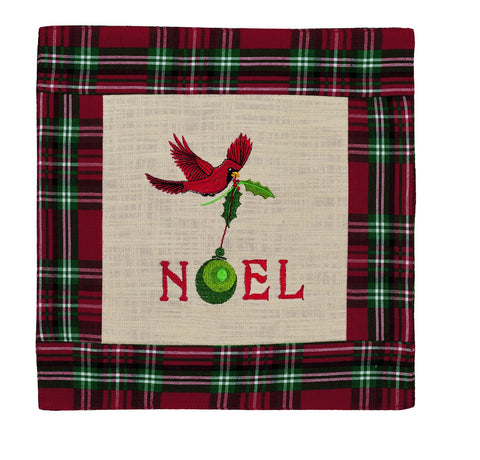 Cardinal Noel Table Mat