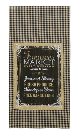 Farmers Market Dishtowel