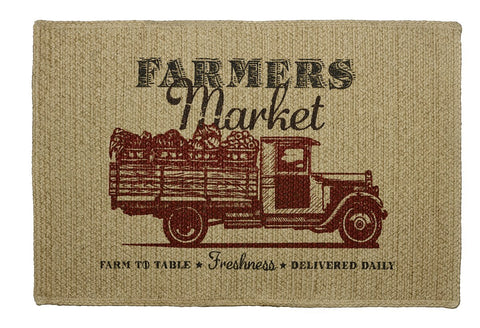 Farmers Market Rectangle Rug