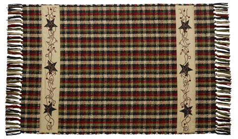 Tangled Berries Rectangle Woven Rug
