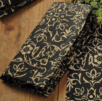 Evelyn Black Napkin