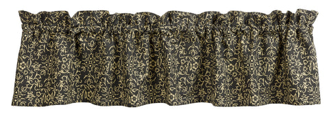 Evelyn Black Valance