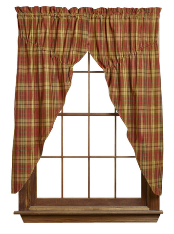 Cinnamon Prairie Curtain Set