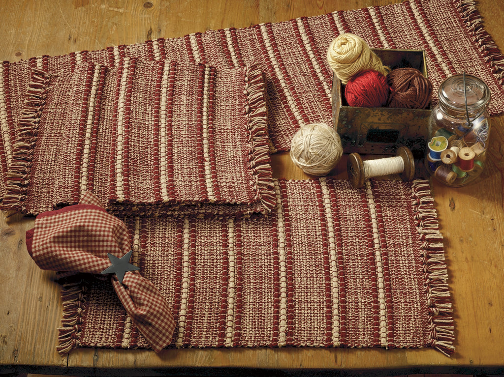 Wine - Burgundy Terrace Short Table Runner