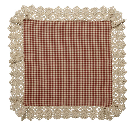 Ava Wine - Burgundy Tablemat