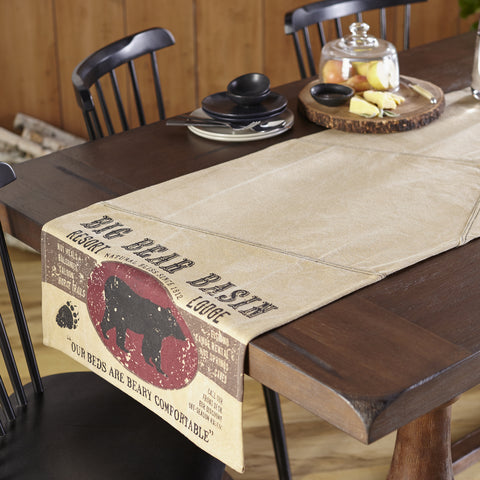 Big Bear Basin Table Runner