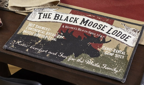 Black Moose Placemat