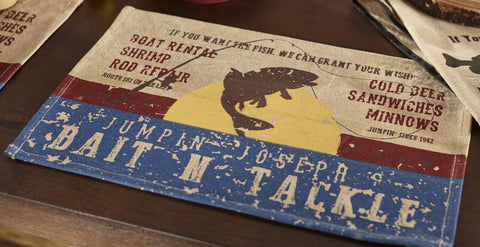 Bait N' Tackle Placemat
