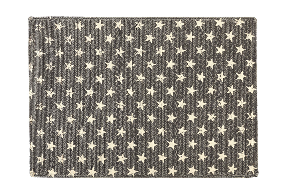 Stargazer Charcoal Rectangle Rug