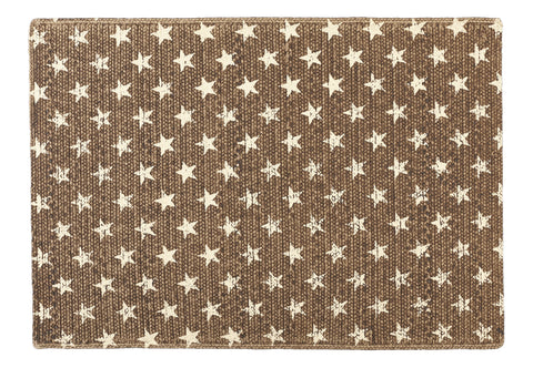 Stargazer Latte Color Dark Tan - Light Brown Rectangle Rug