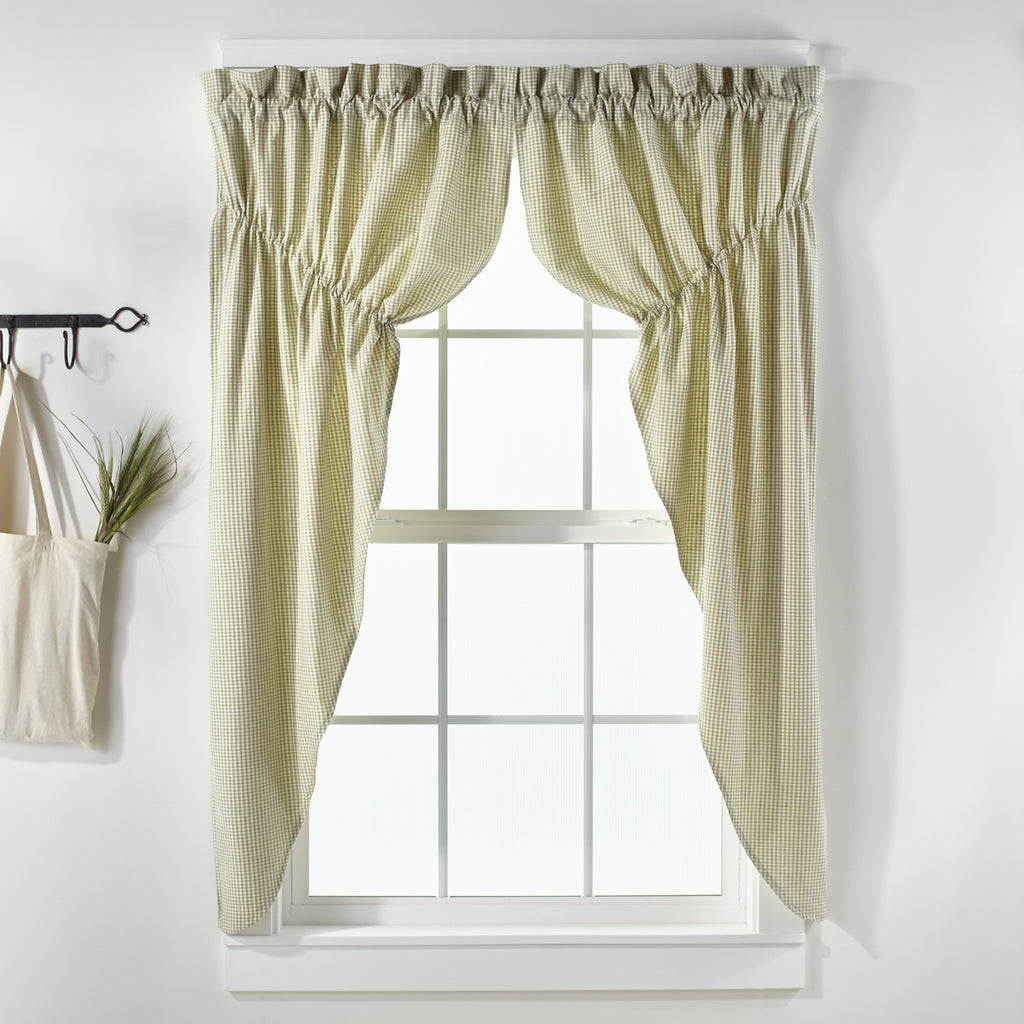 Nottingham Green Prairie Curtain Set