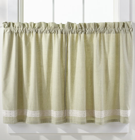 Nottingham Green Window Treatments