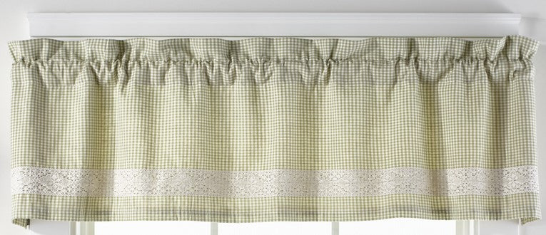 Nottingham Green Valance