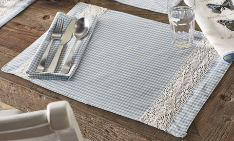Nottingham Blue Placemat