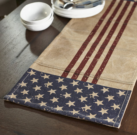 Star Spangled Short Table Runner