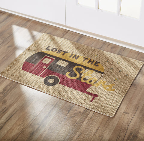 Lost In The Stars Camper Rectangle Rug