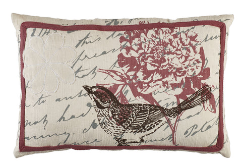 Bird Song Pillow