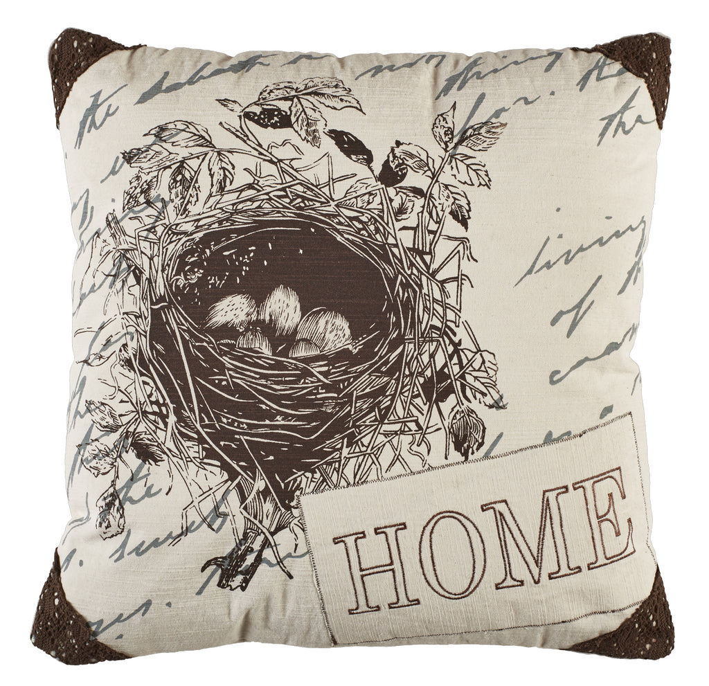 Home Birdnest Pillow