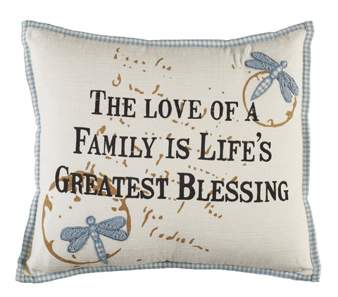 Life's Greatest Blessing Pillow