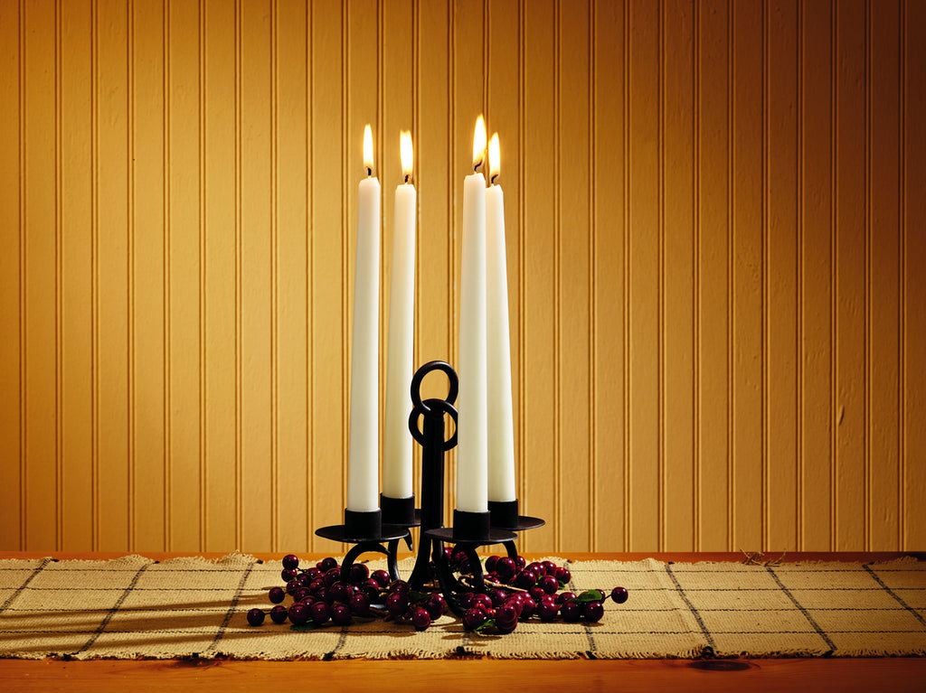 Four Taper Candle Holder