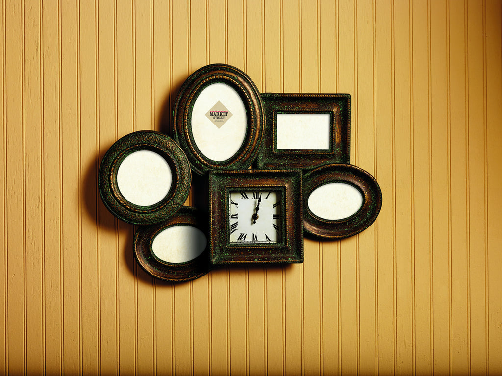 Collage Photo Frame & Clock