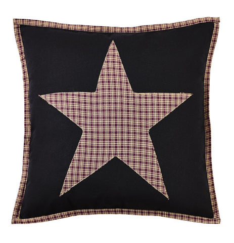 Plum Creek Fabric Star Pillow Cover