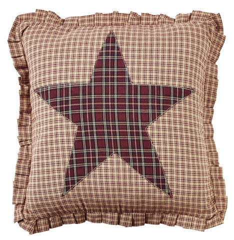 Bradford Star Fabric Star Pillow Cover