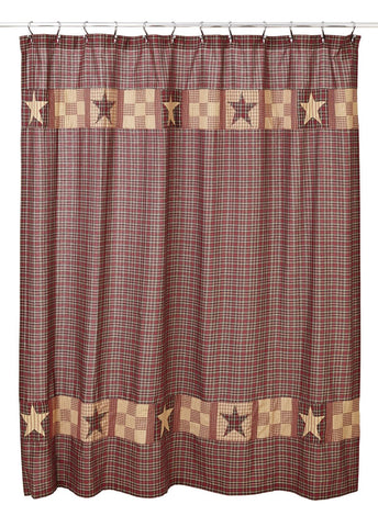 Bradford Star Shower Curtain
