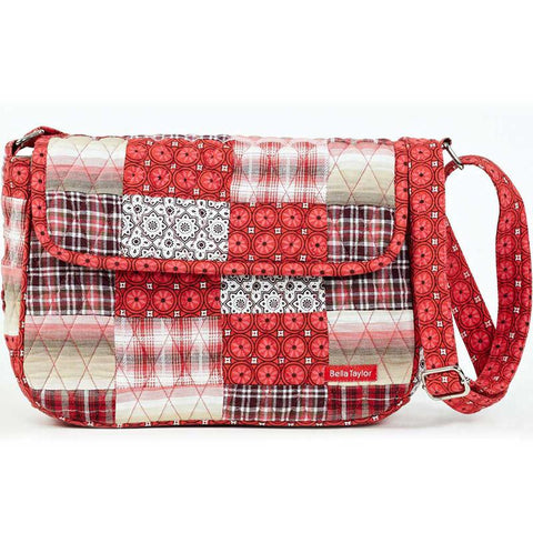 Bella Taylor Poppy Plaid Flap