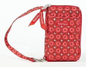 Bella Taylor Poppy Plaid Wristlet Wallet