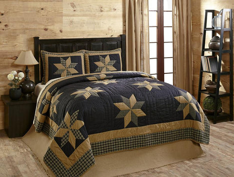 King Henry Quilt Set - 3 Piece
