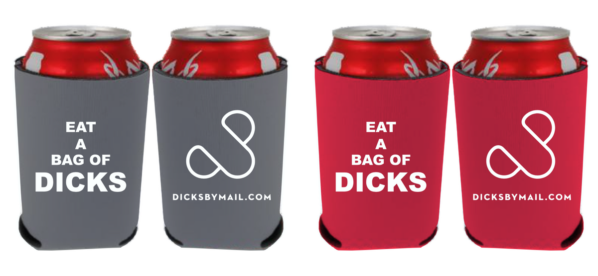 Eat a Bag of Dicks Can Coolers