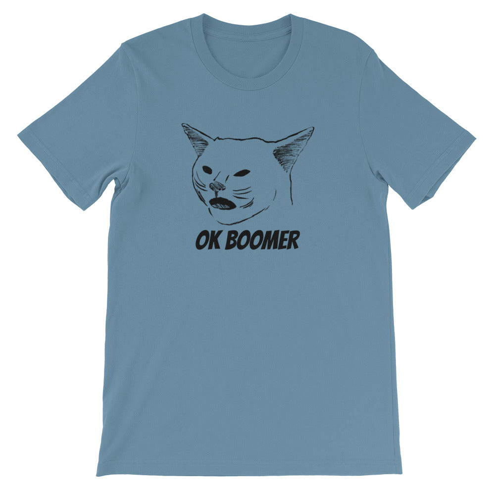 Ok Boomer Cat Meme T-shirt