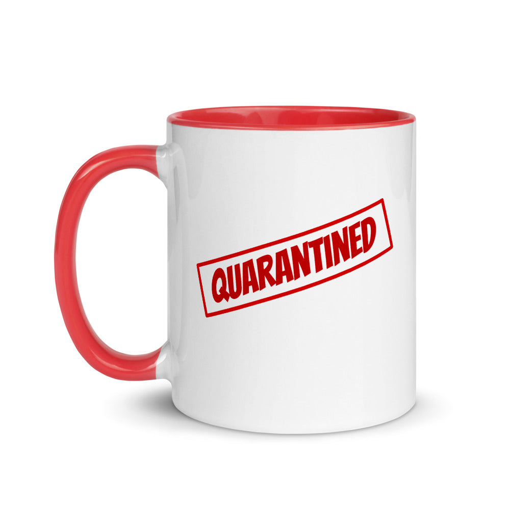 Quarantined - Mug with Color Inside