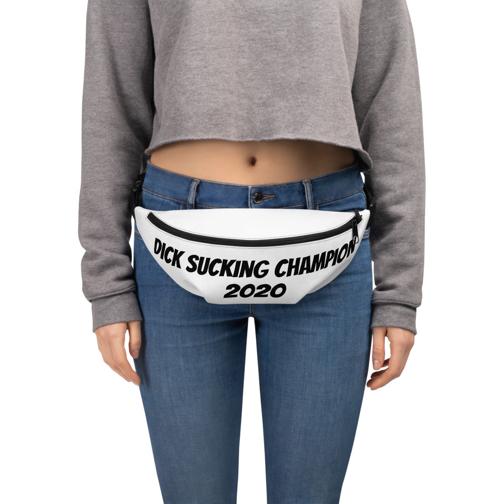 Dick Sucking Champion 2020 Fanny Pack