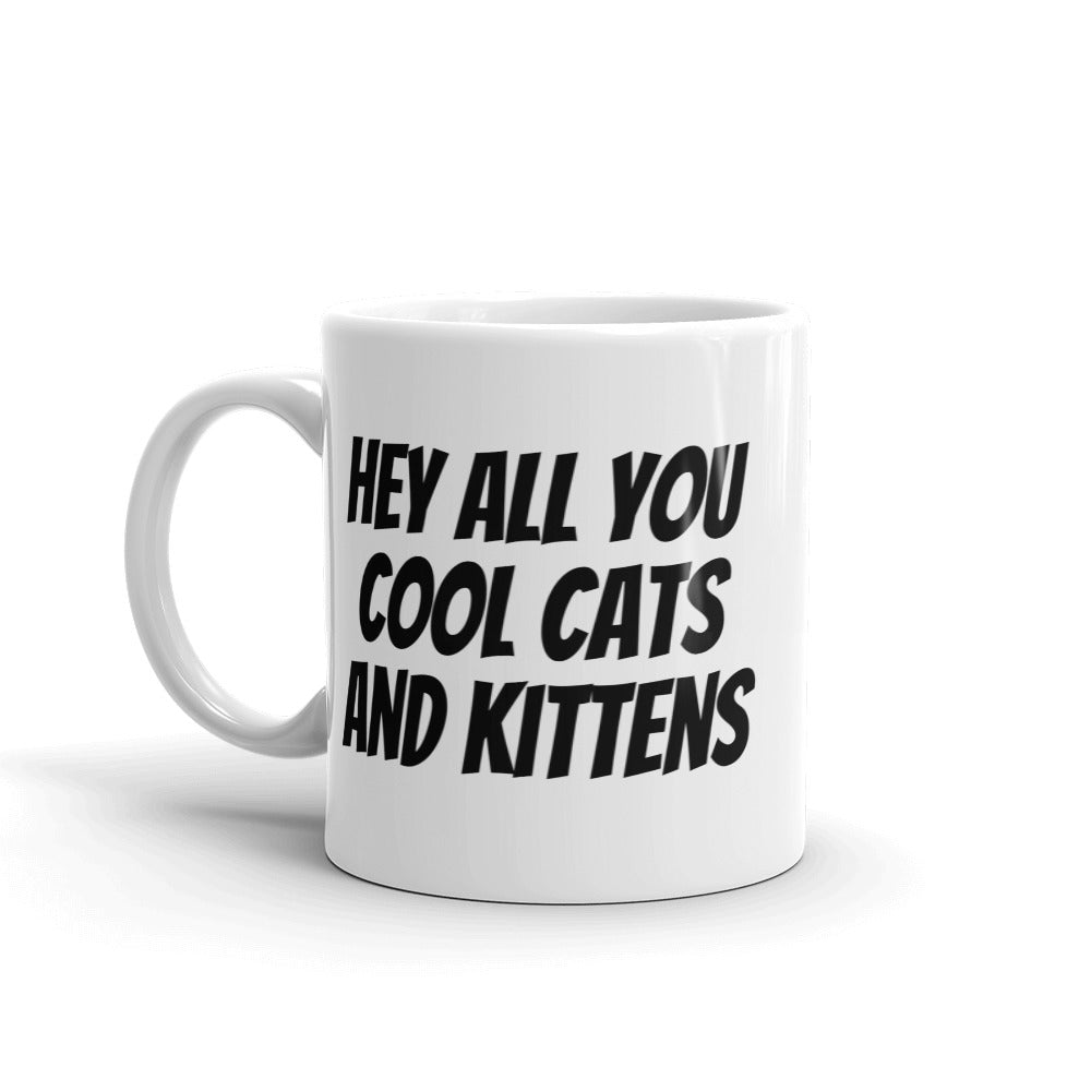 Cool Cats and Kittens Mug
