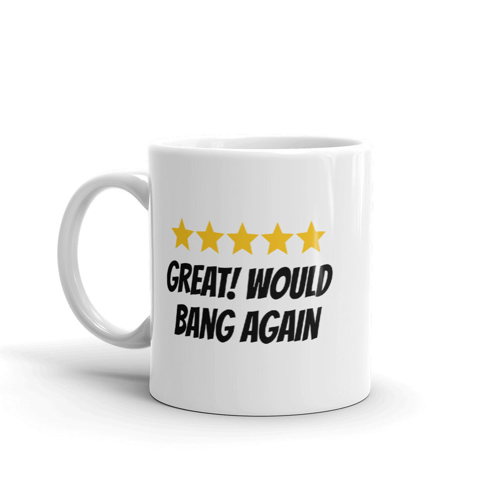 Five Star Review Mug