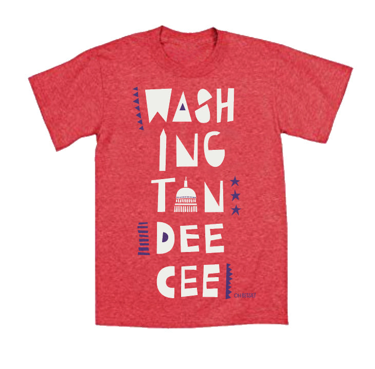 Dee Cee Tee - Red Toddler