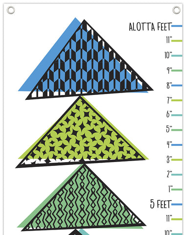 Tipping Triangles Growth Chart Purples