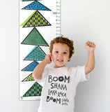 Tipping Triangles Growth Chart Blues