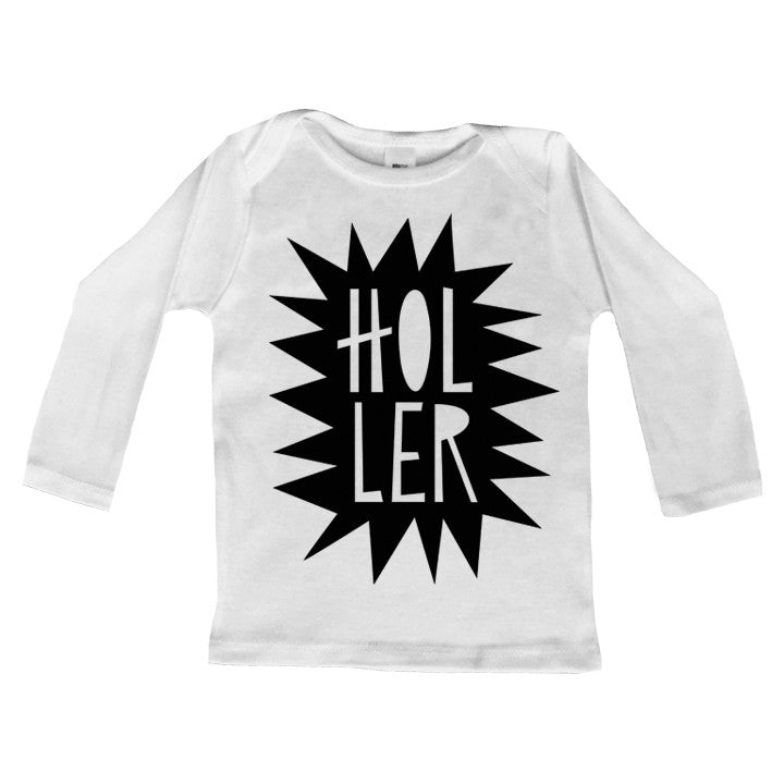 Holler Long Sleeve Lap Tee