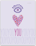 Eye Heart You Wall Print
