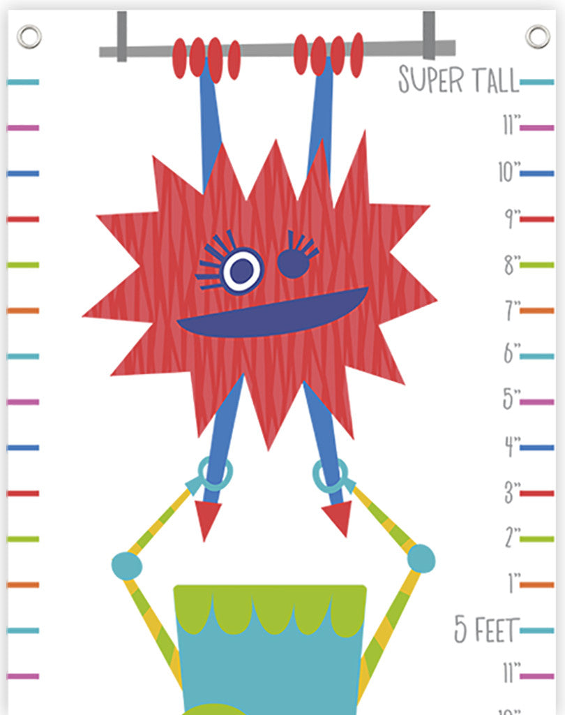 Monsters Growth Chart